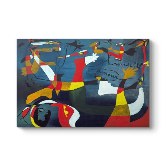 Joan Miro - Hirondelle Amour Tablo