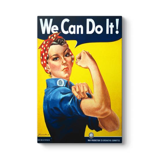 We Can Do It Tablosu