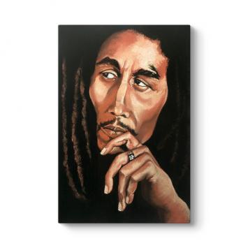 Bob Marley Dikey Tablo