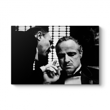 The Godfather - Marlon Brando Tablosu