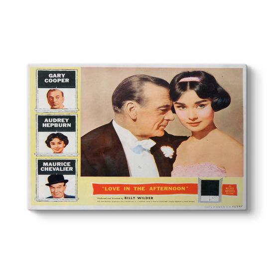 Audrey Hepburn - Love In The Afternoon Tablosu
