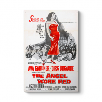 Ava Gardner - The Angel Wore Red Tablosu