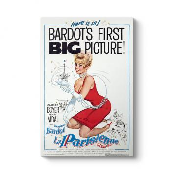 Brigitte Bardot - La Parisienne Tablosu