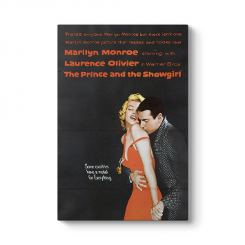 Marilyn Monroe - The Prince and Showgirl Tablosu