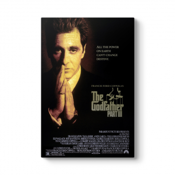 The Godfather Film Afişi Tablosu