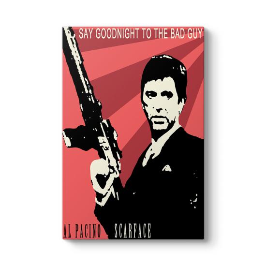 Al Pacino - Scarface Pop Art Tablosu