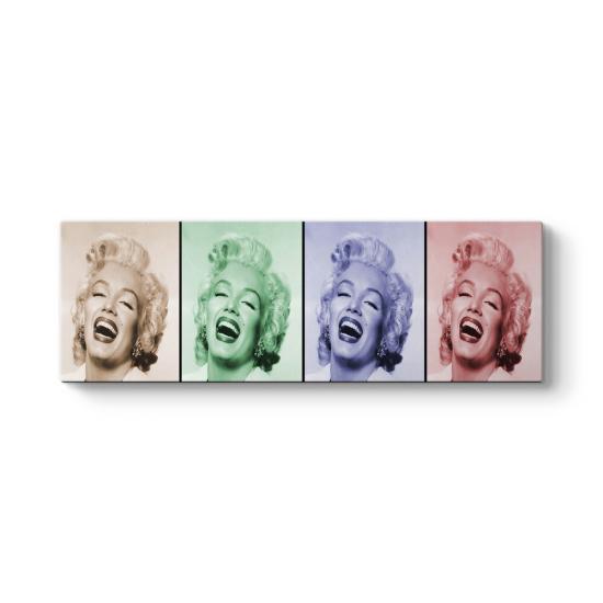 Marilyn Popart Panorama Tablo