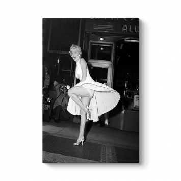 Marilyn Monroe Etek Tablosu
