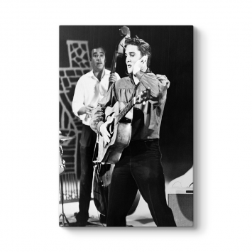 Elvis Presley Canvas Tablo