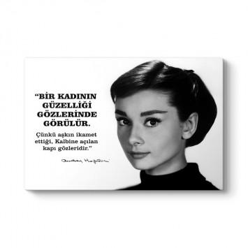 Audrey Hepburn Sözleri Tablosu