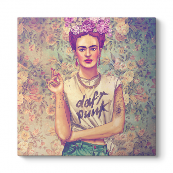 Frida Kahlo - Punk Tablosu