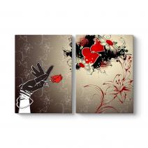 Çiçek Kalp Tablosu