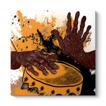 African Drummer Tablo