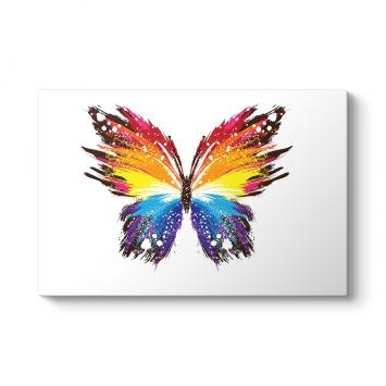 Renkli Kelebek Tablosu