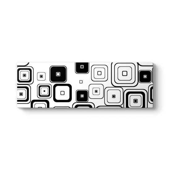 Modern Şekiller Panorama Tablo