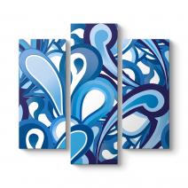 Blue Abstract Tablosu