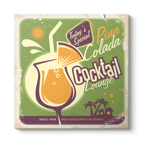 Cocktail Lounge Tablosu