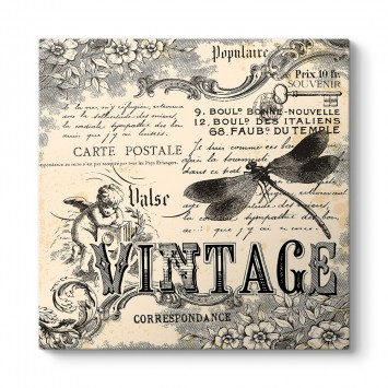 Soyut Vintage Tablo