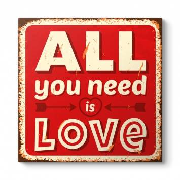 All You Need is Love Tablosu