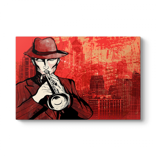 Sokak Müzisyeni Tablosu