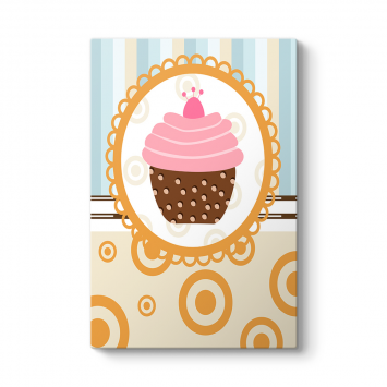 Cupcake Vintage Tablo