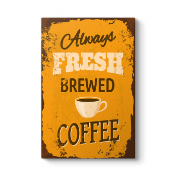 Kahve Afiş Tablosu