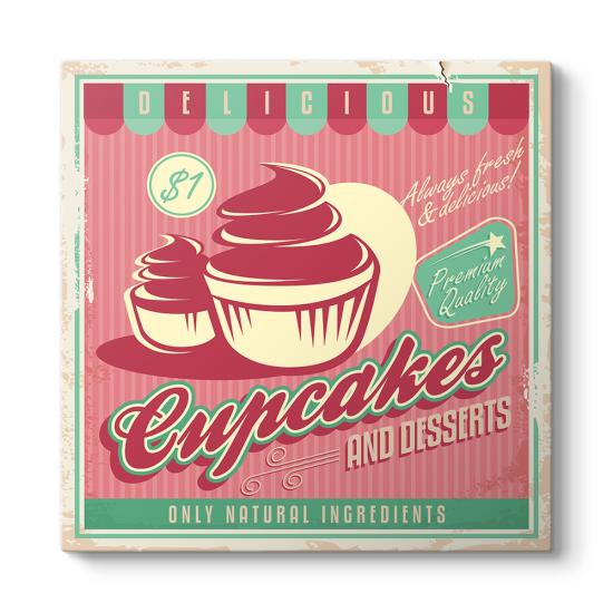 Cup Cakes Tablosu