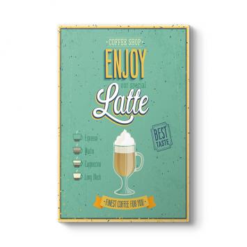 Caffe Latte Machiato Tablosu