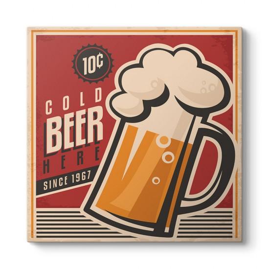 Soğuk Bira Afiş Tablosu