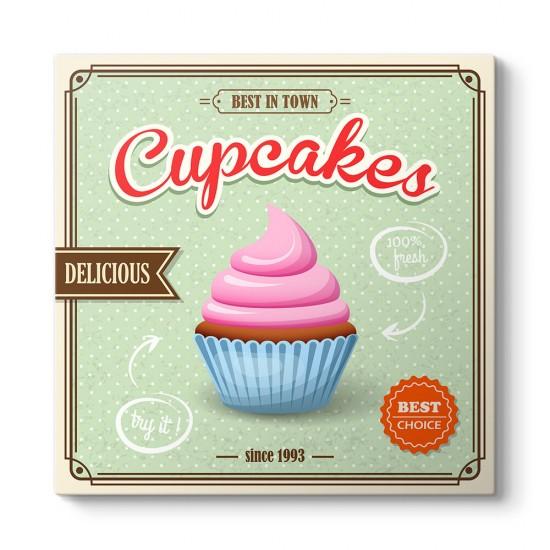 Cup Cakes Afiş Tablosu