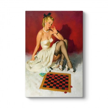 Pin Up Checkers Tablosu
