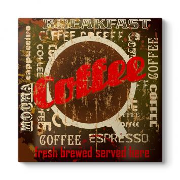 Coffee Espresso Tablosu