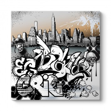 Graffiti New York Tablosu
