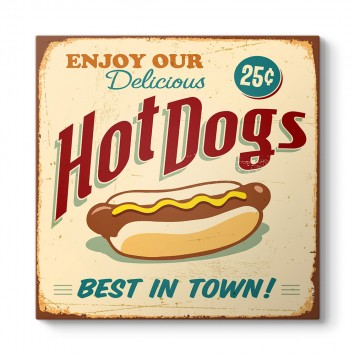Hot Dogs Tablosu