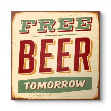 Free Beer Tomorrow Tablosu