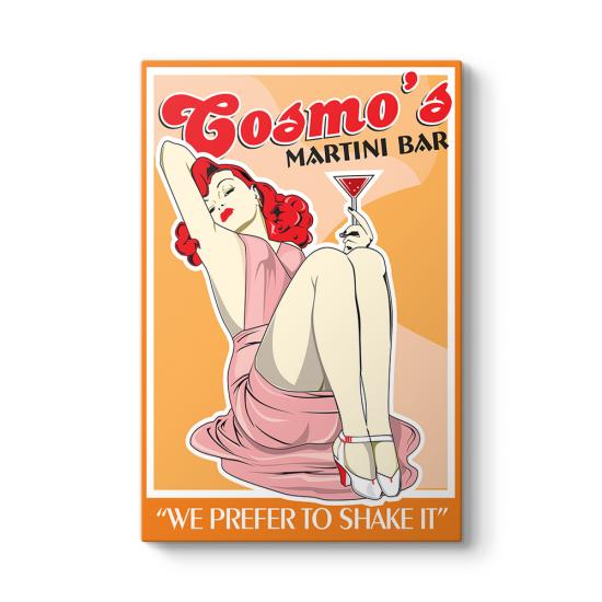 Cosmos Martini Bar Tablosu
