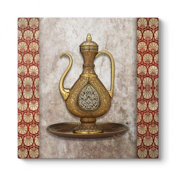 Osmanlı İbrik ve Leğeni Tablosu