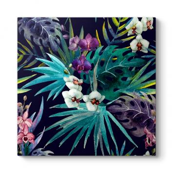 Orkideler Suluboya Tablosu