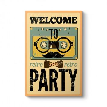 Partiye Hoşgeldin Tablosu