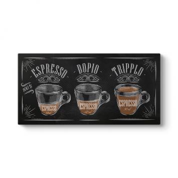 Espresso Panorama Tablosu