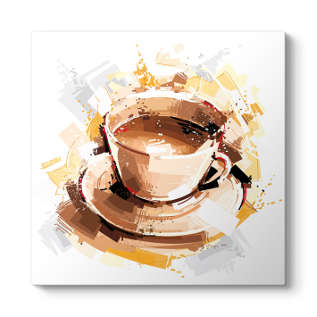 Kahve Fincanı Çizim Tablosu