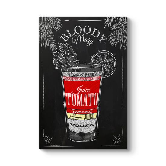 Bloody Mary Kokteyl Tarifi Tablosu
