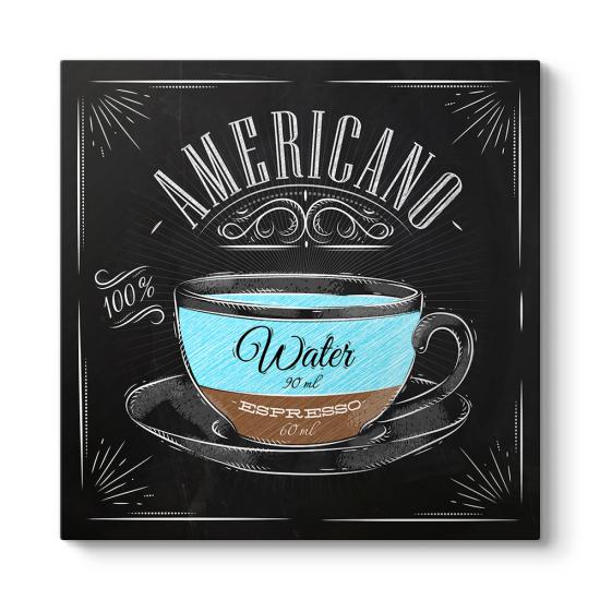 Americano Kahve Tarifi Tablosu