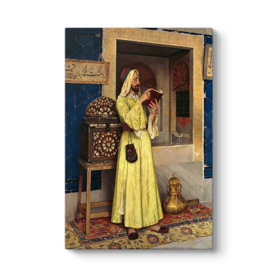 Osman Hamdi Bey - Ab-ı Hayat Çeşmesi Tablosu