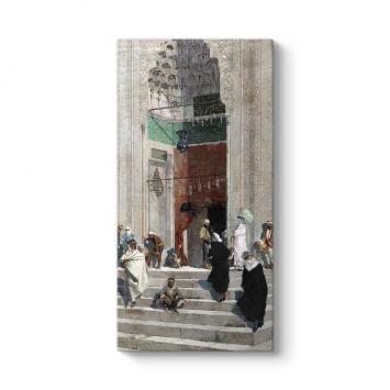 Osman Hamdi Bey - Yeşil Cami Önü Tablosu