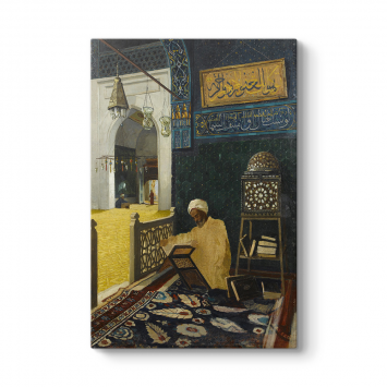 Osman Hamdi Bey - Kur'an Tilaveti Tablosu