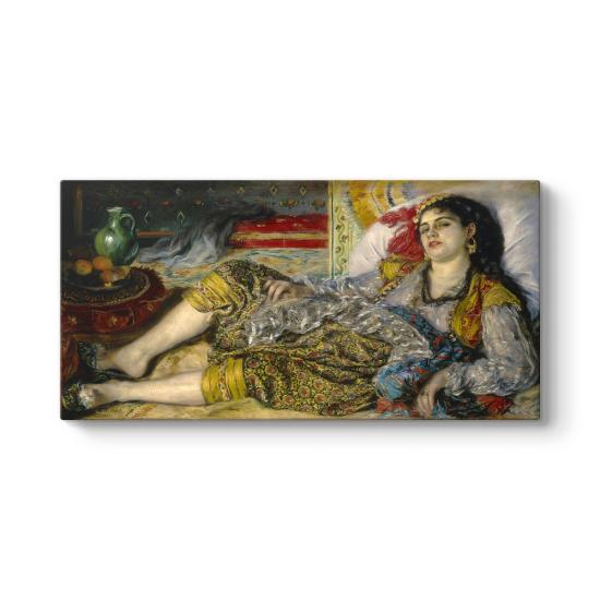 Auguste Renoir - Odalisque Tablosu