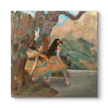 Edgar Degas - Ballet Dancers Tablosu