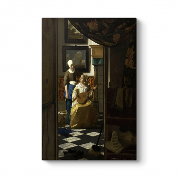 Johannes Vermeer - The Love Letter Tablosu