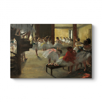 Edgar Degas - The Dance Class Tablosu